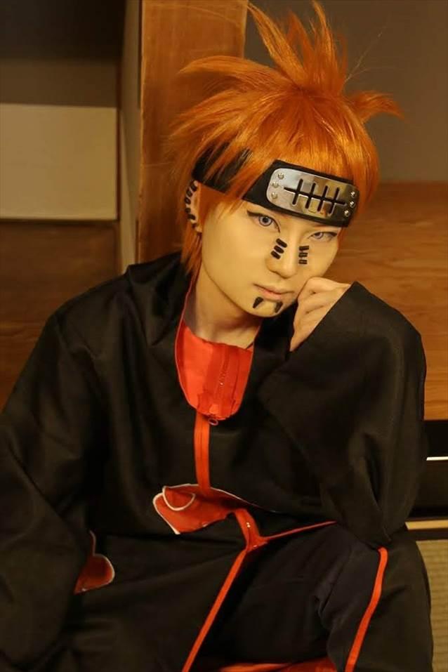 【NARUTO/ペイン六道 天道】のコスプレをしました。